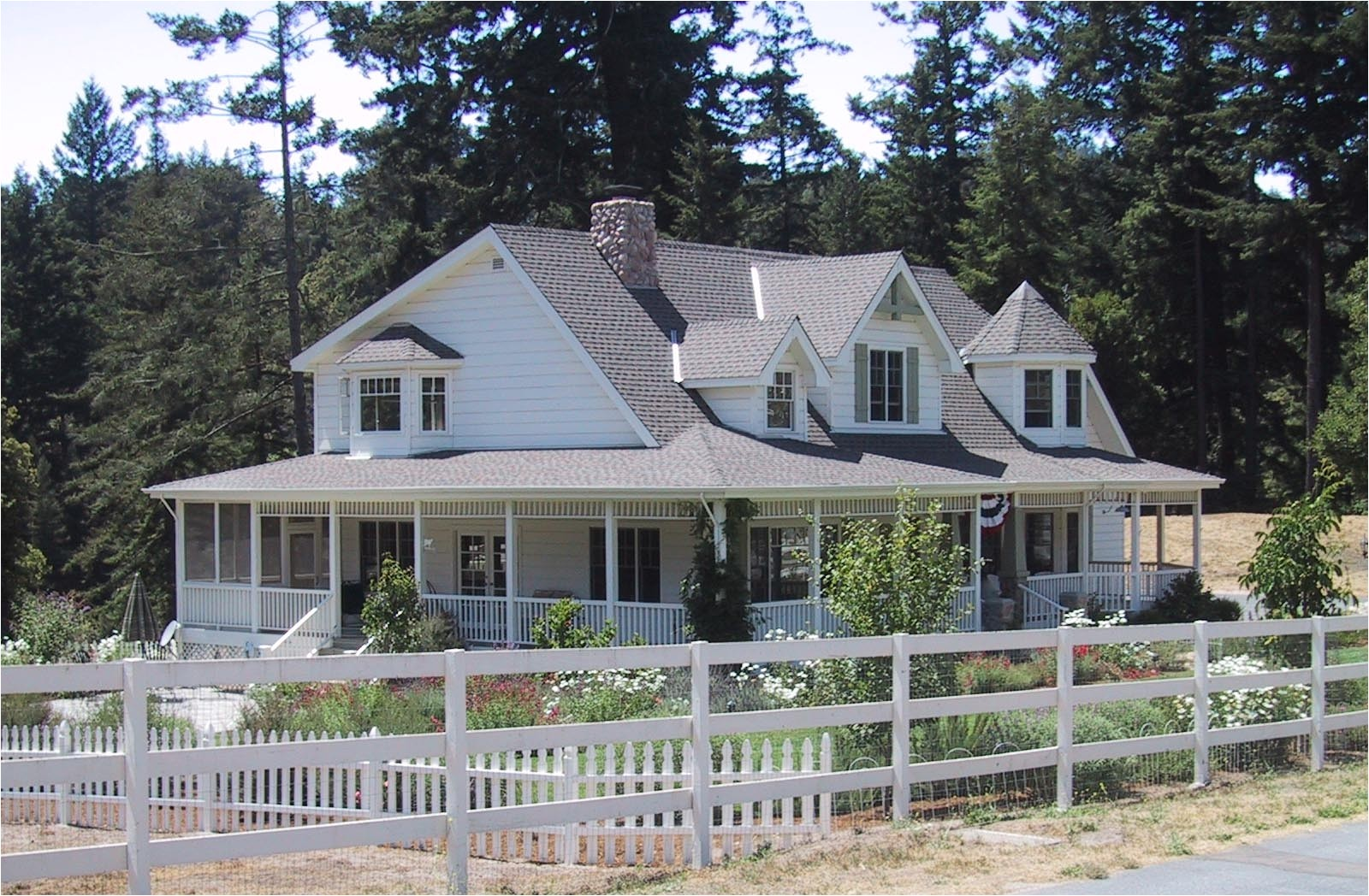 14425 country farmhouse plans with wrap around porch