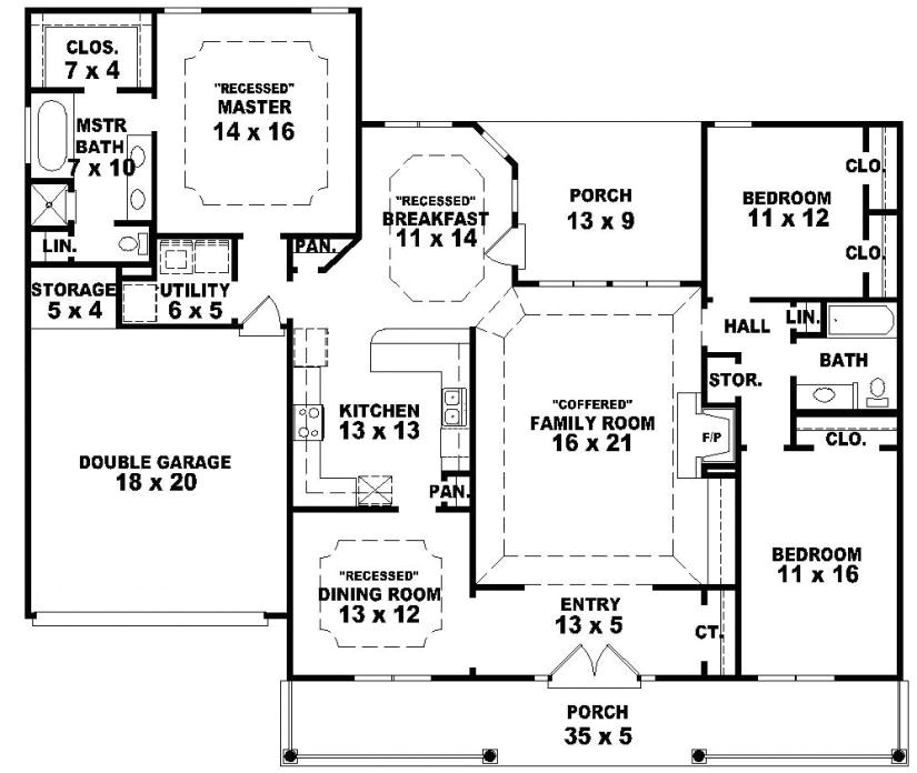 beautiful one story country house plans 1 single story farmhouse house plans