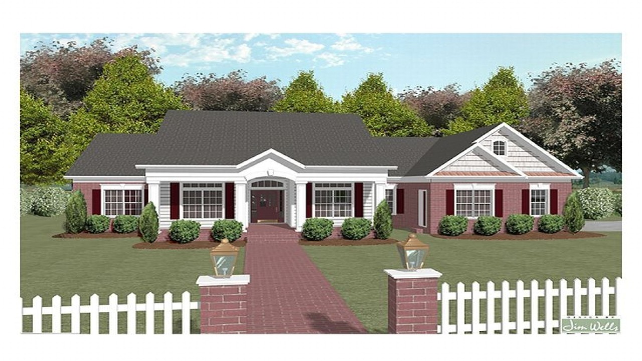 7f54cdcf587df289 one story country house plans simple one story houses