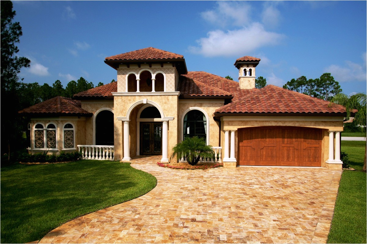 tuscan style house plans with courtyard