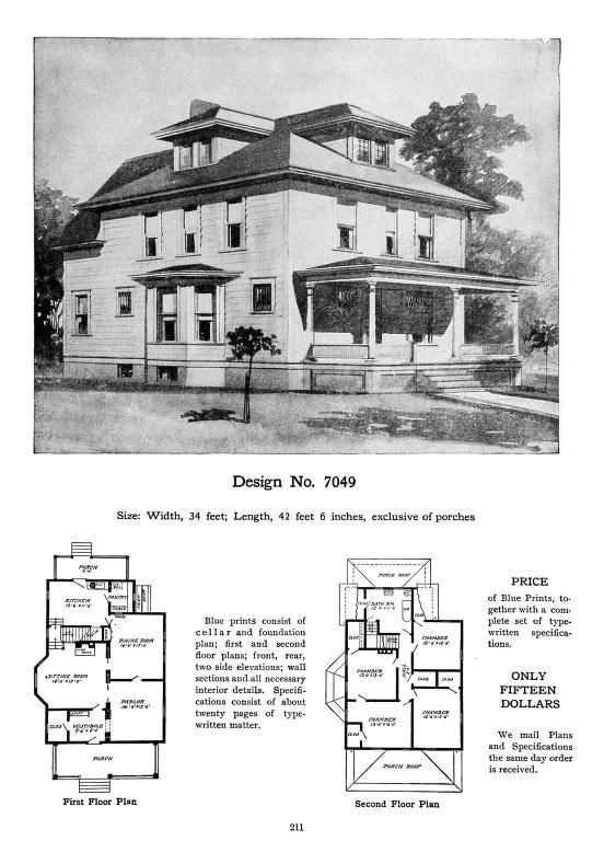 Craftsman Bungalow House Plans 1930s Craftsman Bungalow House Plans 1930s
