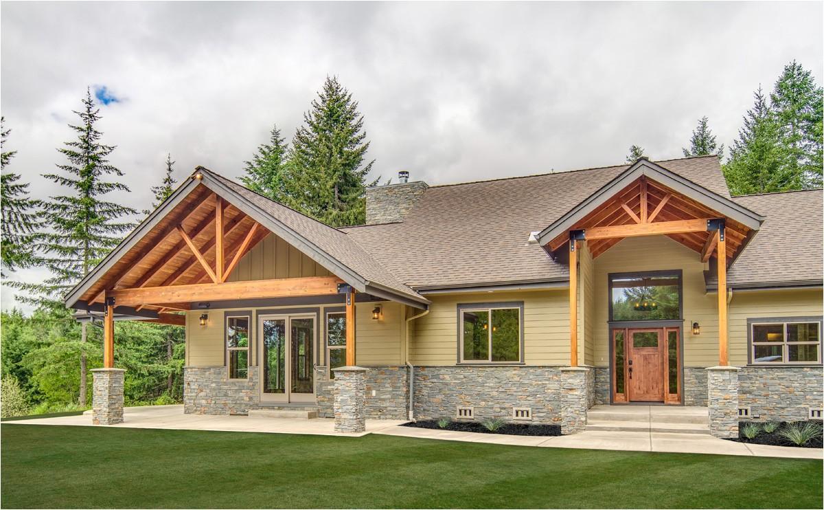Craftsman Ranch Home Plans Sticks and Struts Craftsman Ranch 72815da