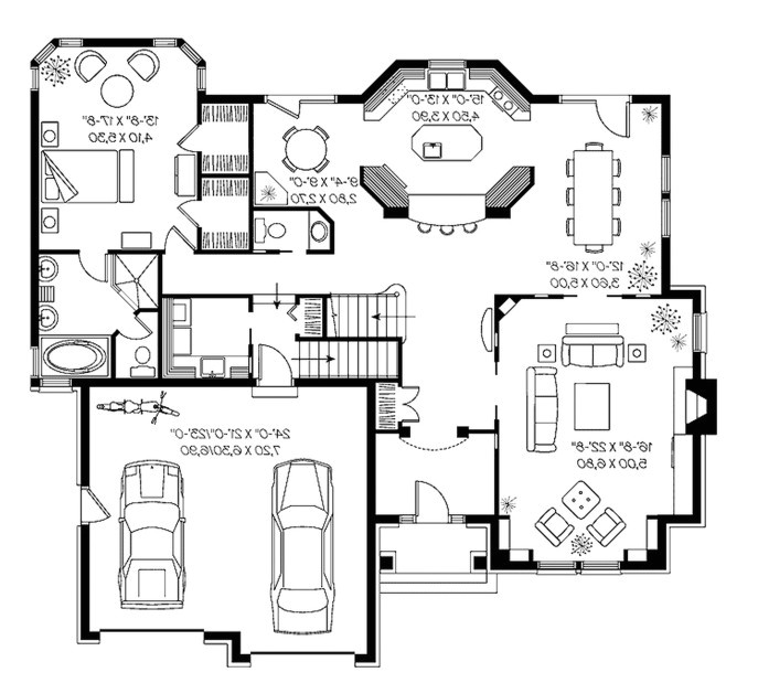 free house plans homeplans tritmonk floor plan home interior design ideas with images multigenerational unique beach rambler tropical