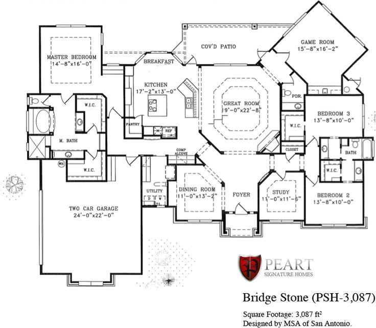 Custom Built Homes Floor Plans Custom Home Floor Plans Texas Gurus Floor