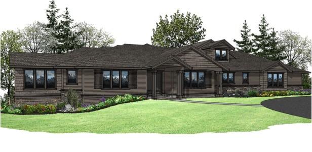 oregon custom home design