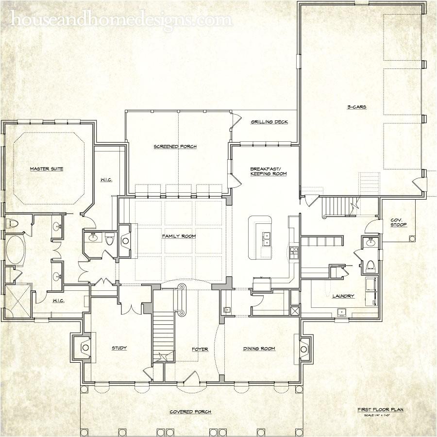Custom Home Plans with Photos Custom Home Designs north Carolina