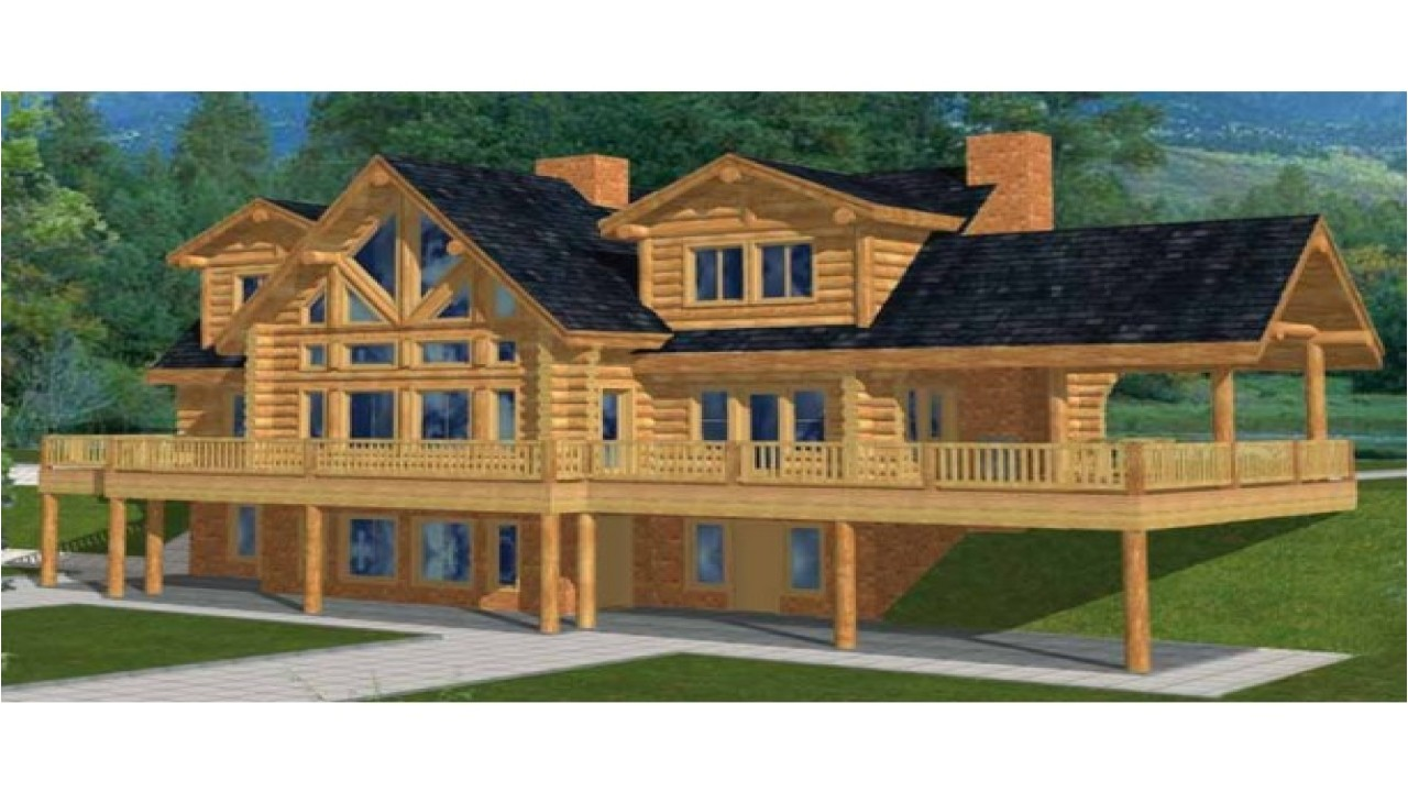 3658fa801f53b943 two story log cabin house plans custom log cabins
