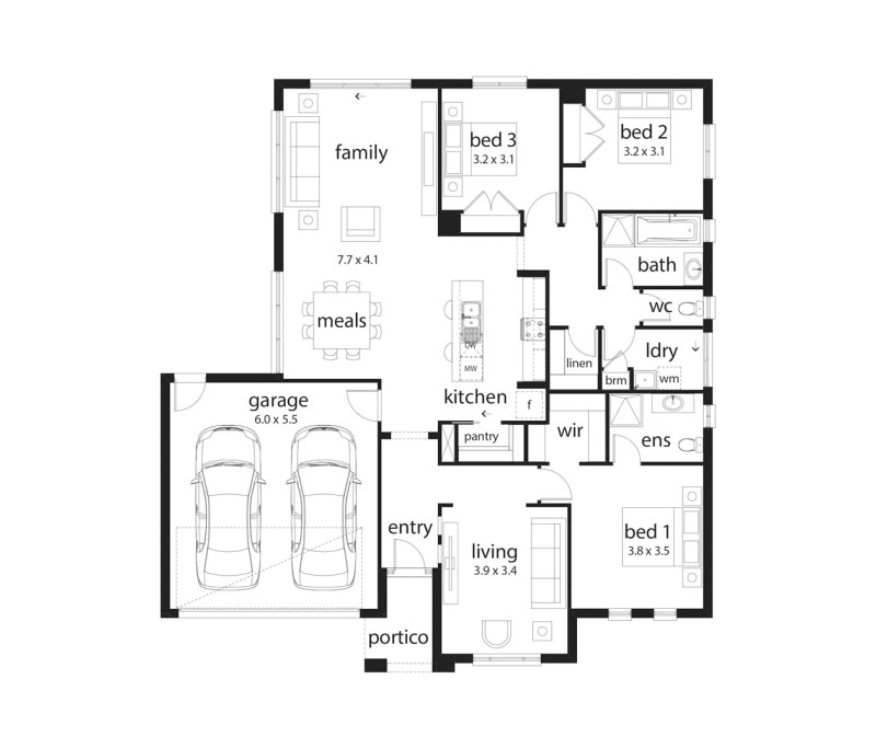 Dennis Family Homes Floor Plans Columbia by Dennis Family Homes Designs Floorplans
