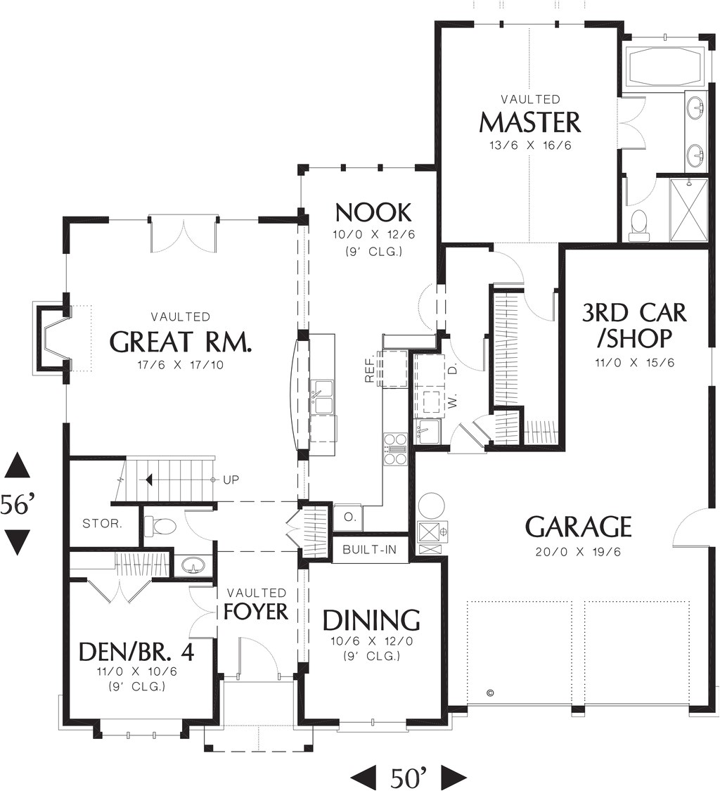 2196 square feet 4 bedrooms 2 5 bathroom french country plans 3 garage 10737