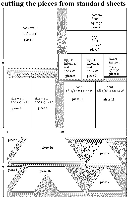 free wooden doll house plans