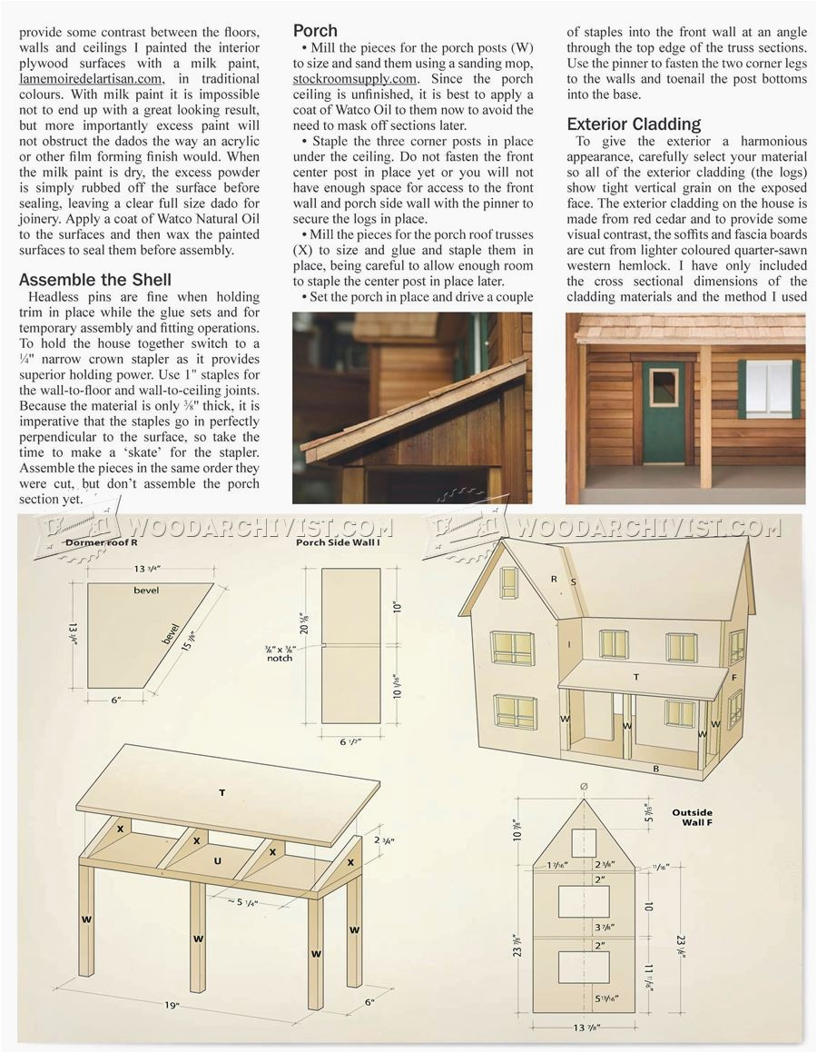 doll house plans woodwork general