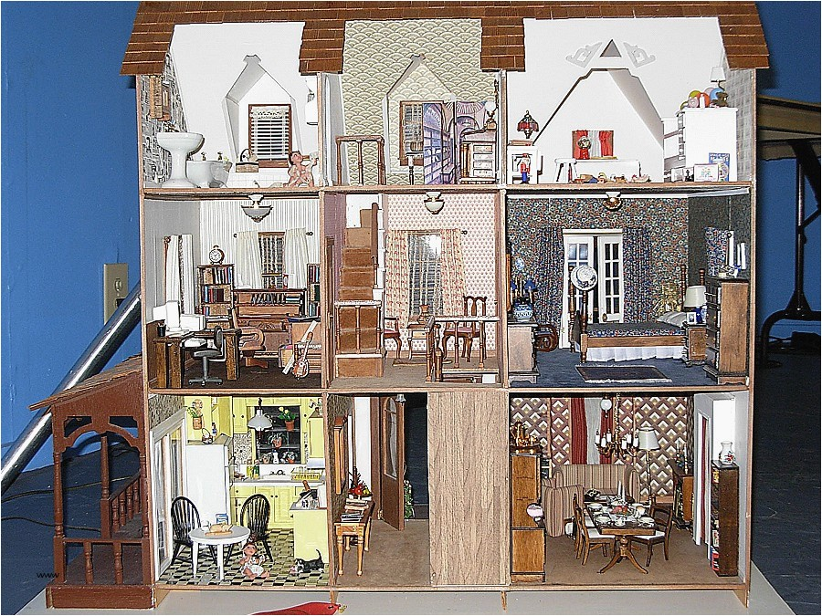 victorian doll house plans free