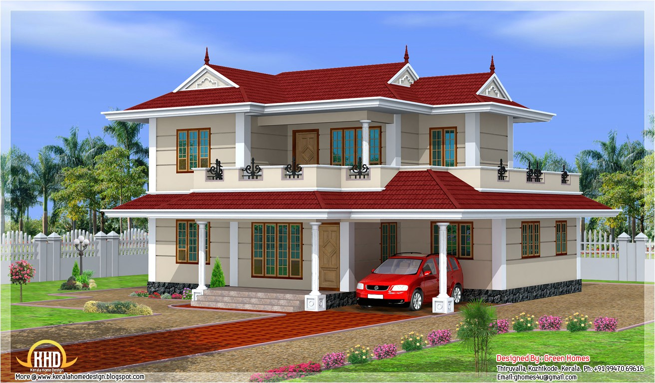 2250 sq ft 4 bhk double storey house