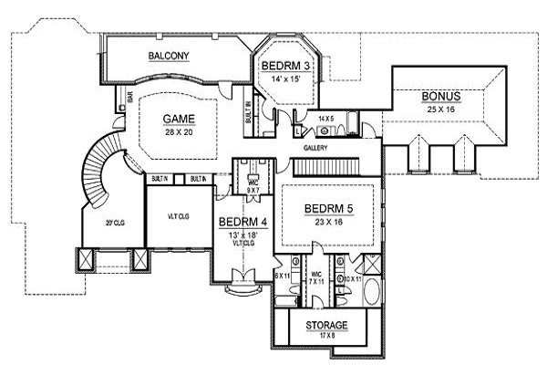 draw second floor house plans free online