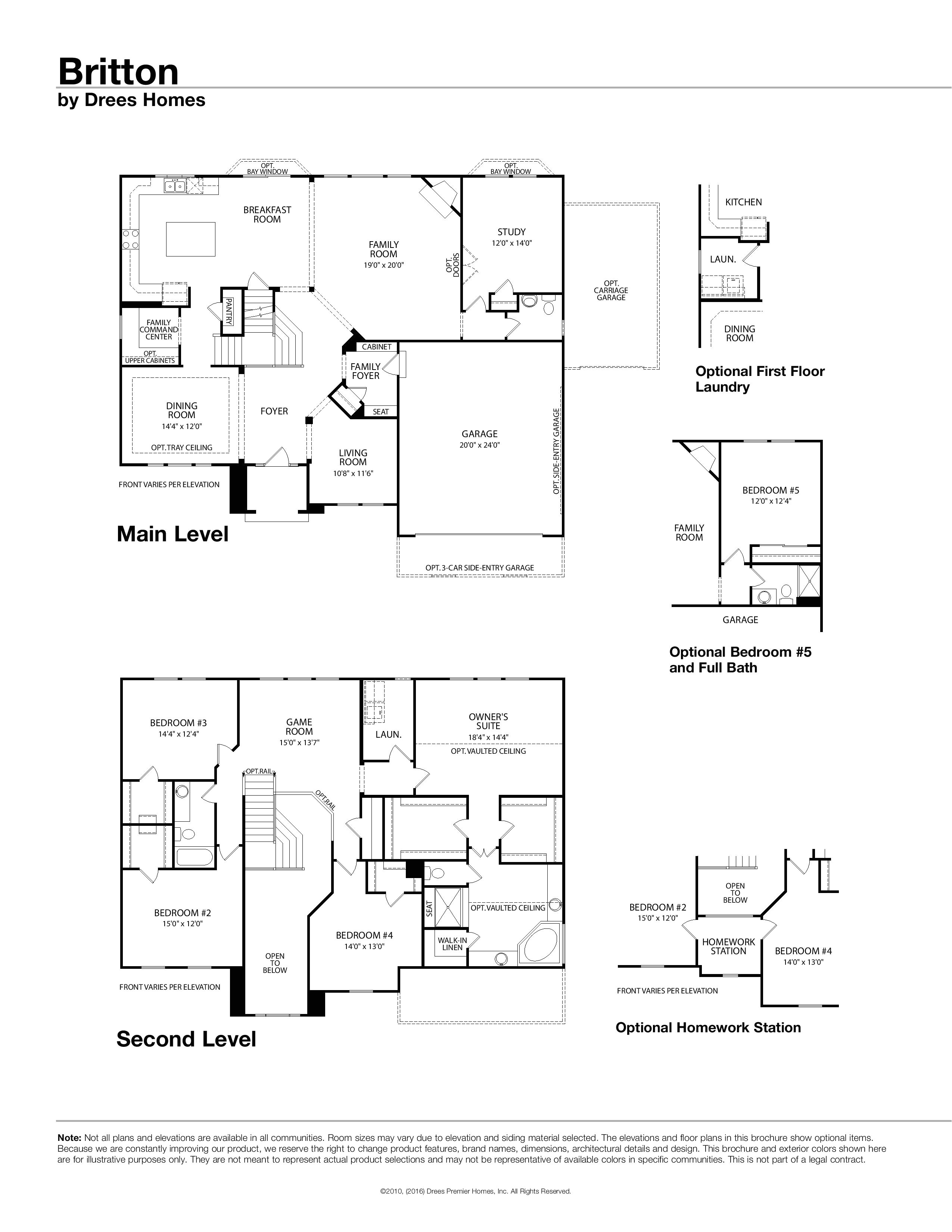 drees homes floor plans austin