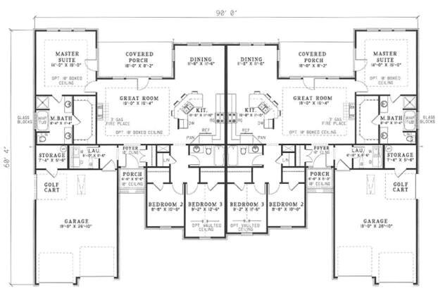 Duplex House Plans 3 Bedrooms 3 Bedroom Duplex Floor Plans with Garage Glif org