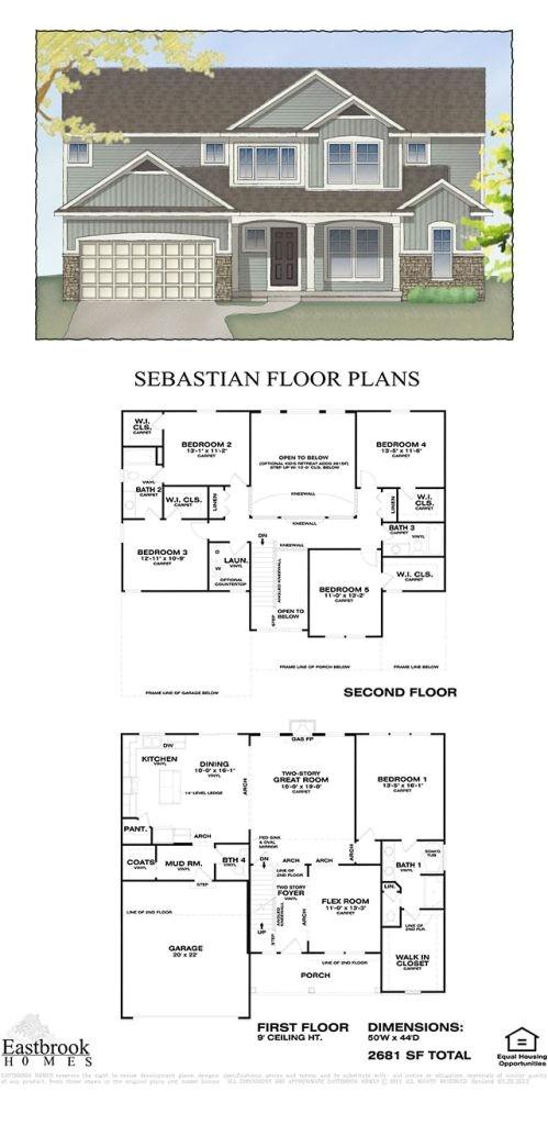 eastbrook homes floor plans new hearthside floor plan by eastbrook homes square footage 2244