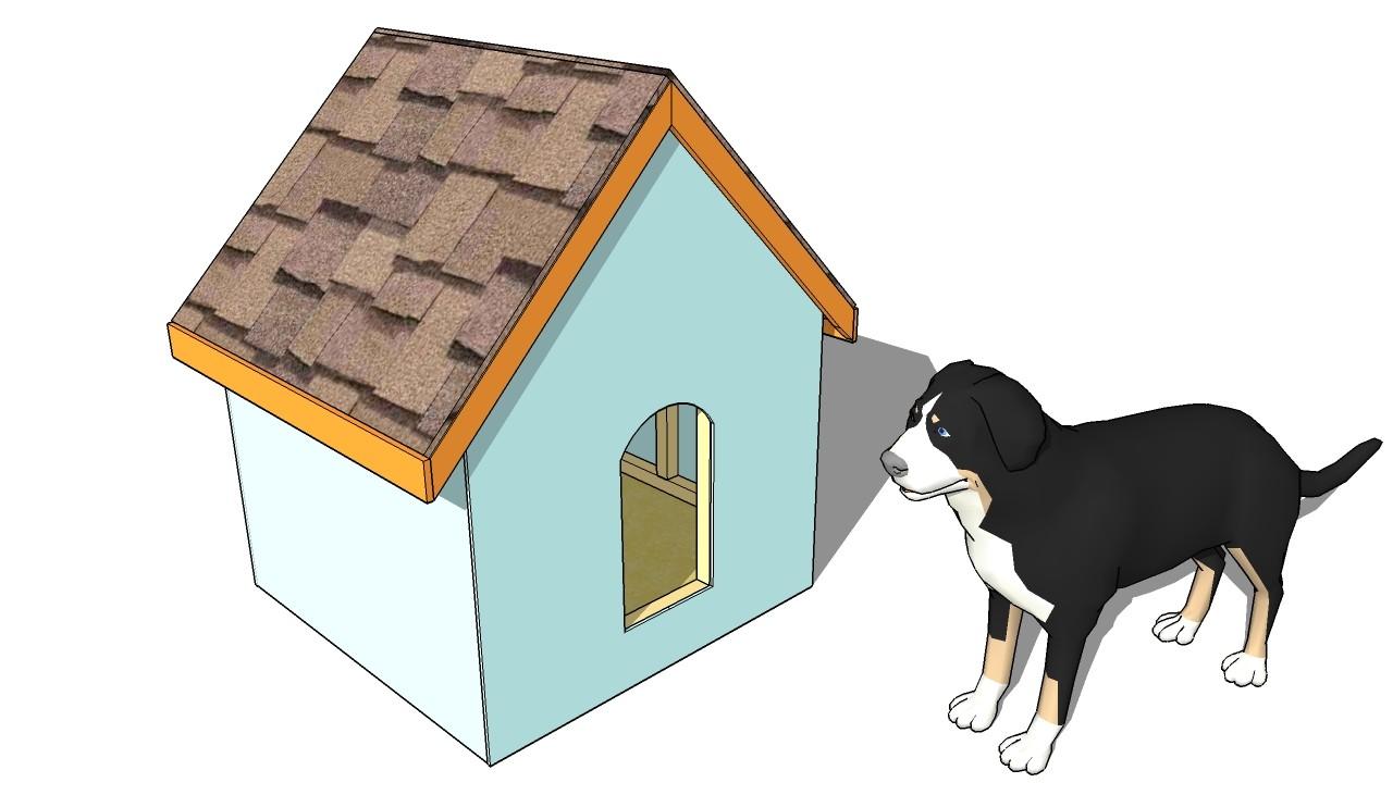 easy dog house plans