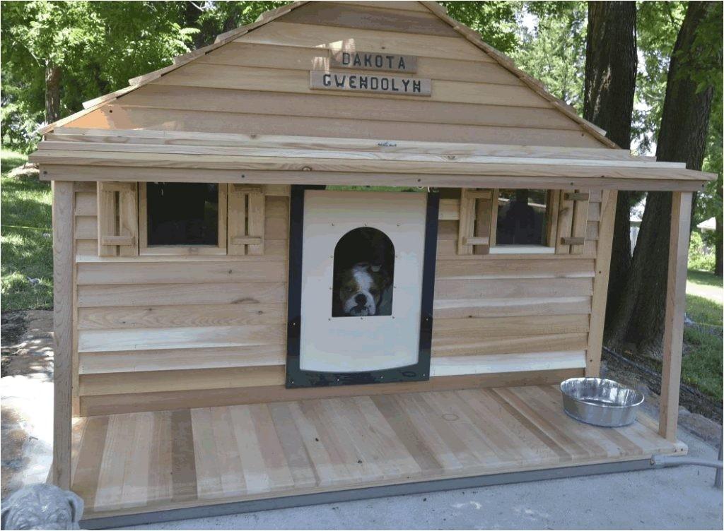 free xl dog house plans