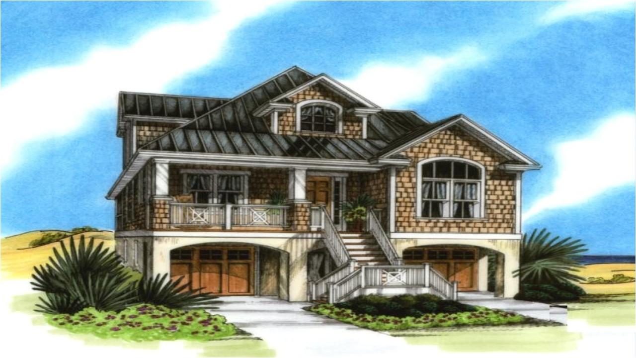 Elevated Coastal Home Plans Elevated Coastal House Plans Coastal House Plans On