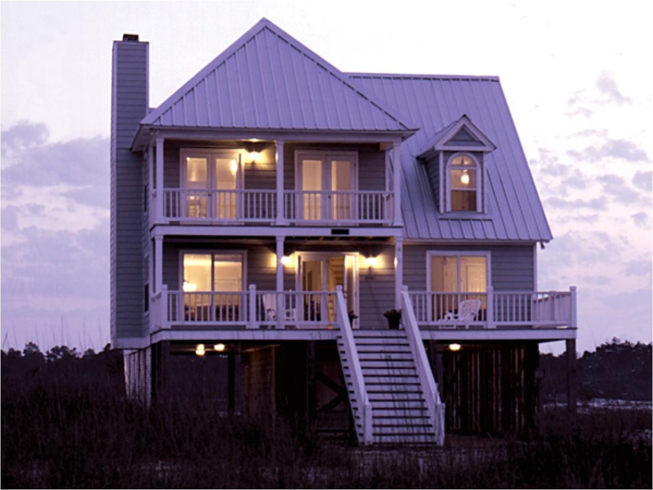 Elevated Coastal Home Plans Home Plans Raised Beach House Raised Beach Homes Plans