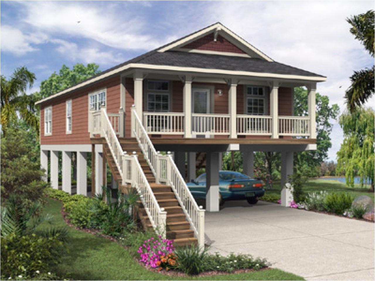 Elevated Coastal Home Plans Raised Beach House Plans with Elevator House Plans with