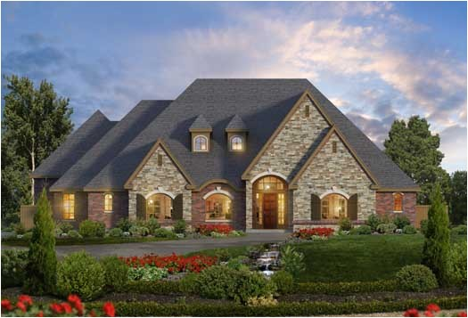 lovely european style house plans 9 beautiful one story house plans