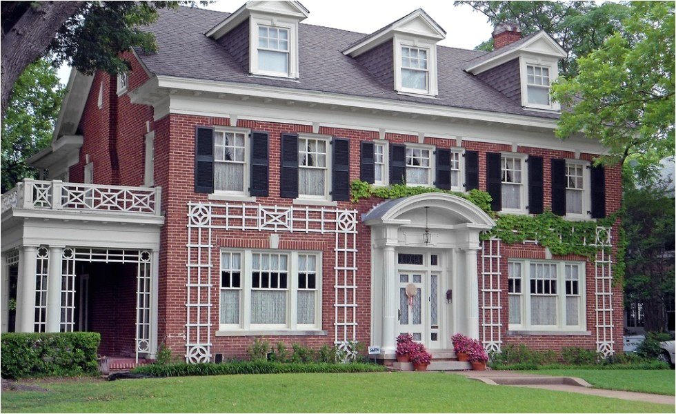 federal colonial style house plans