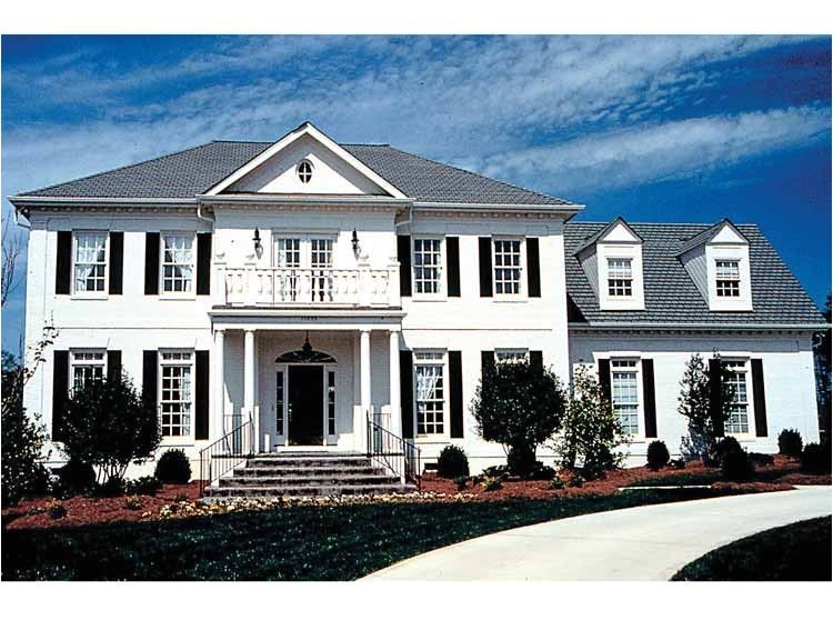 Federal Colonial Home Plans Federal Style Row House Plans