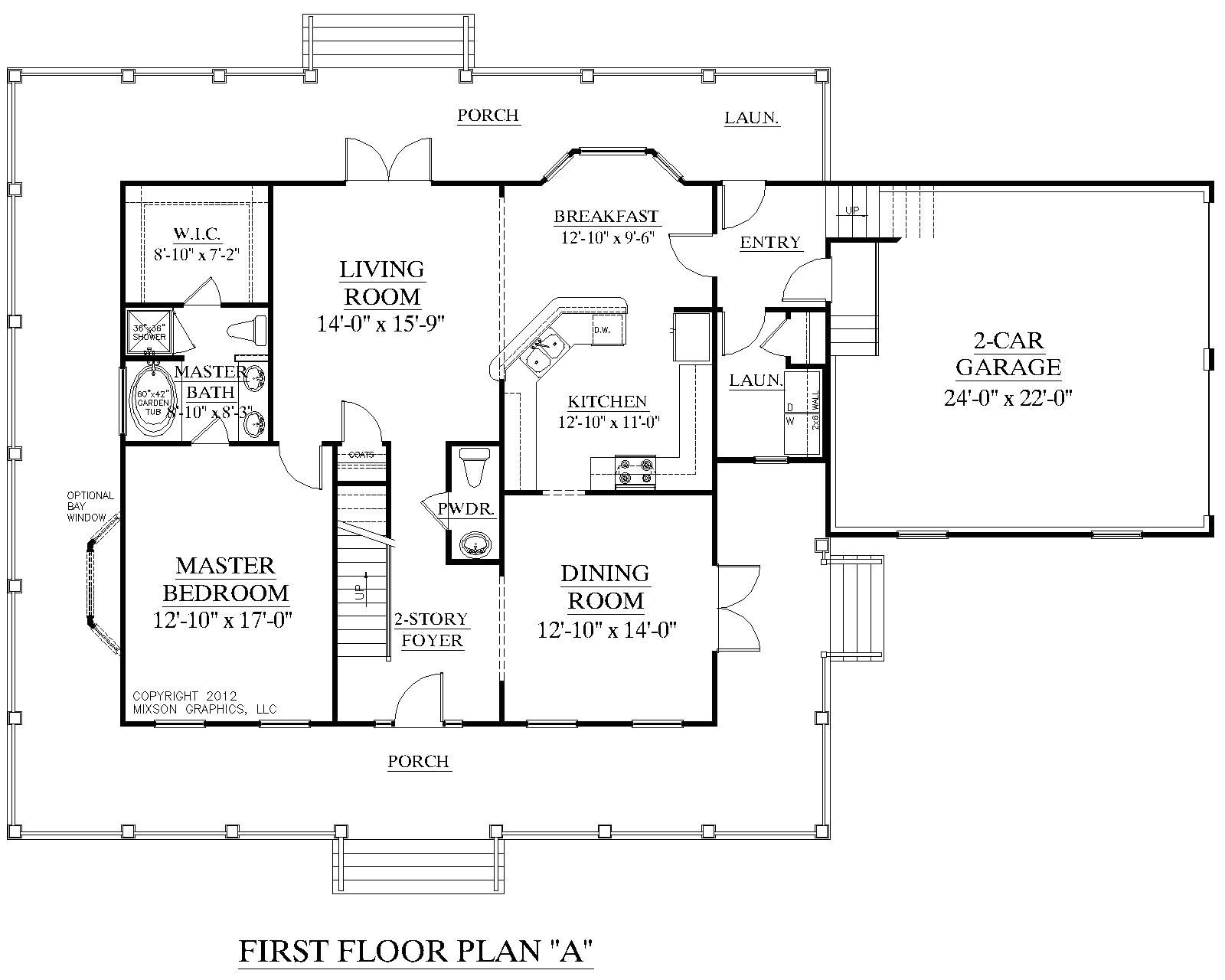 2 story house plans with first floor master