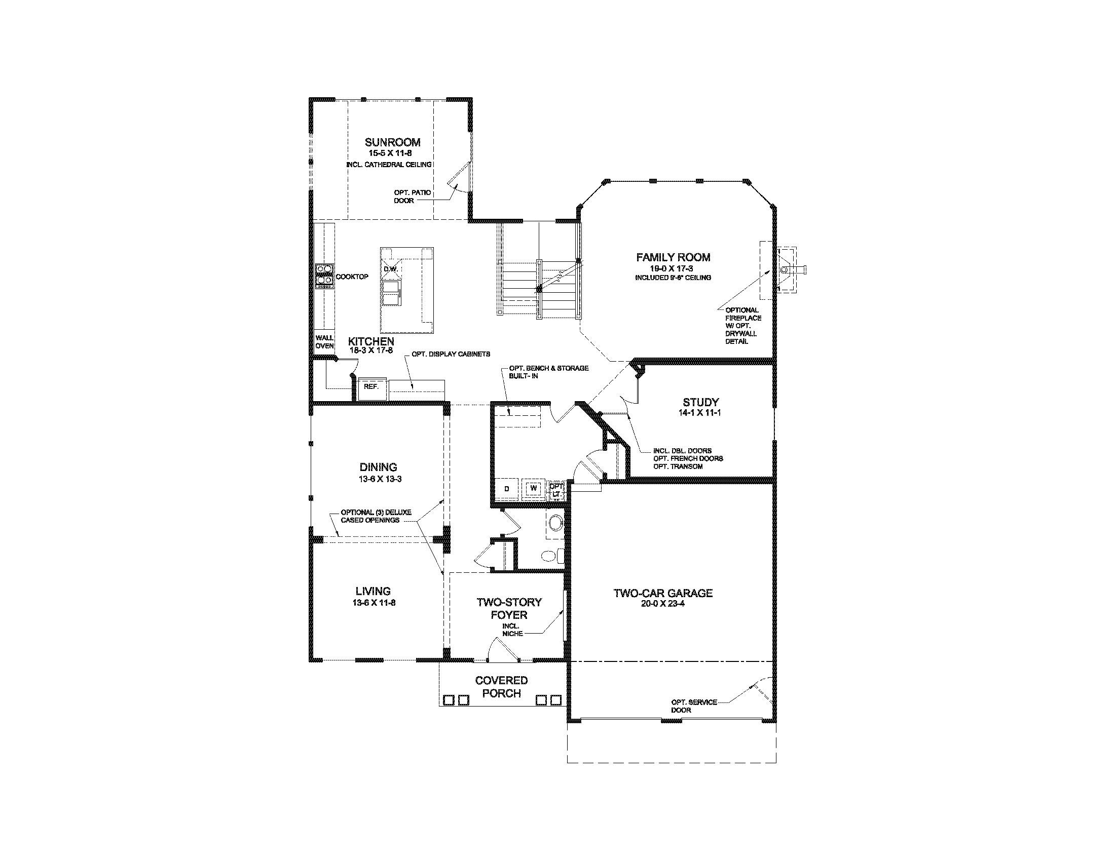 fischer homes marshall floor plan