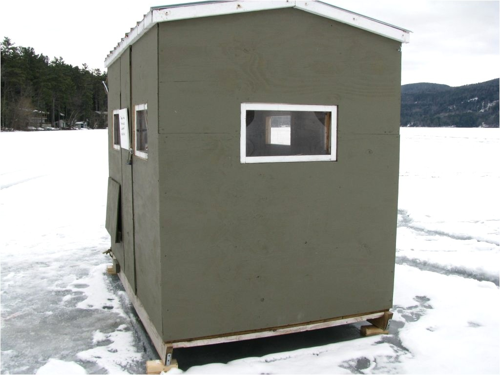 ice house trailer plans