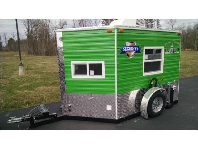 ice shanty trailer