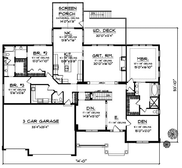 5 bedroom house plans south africa