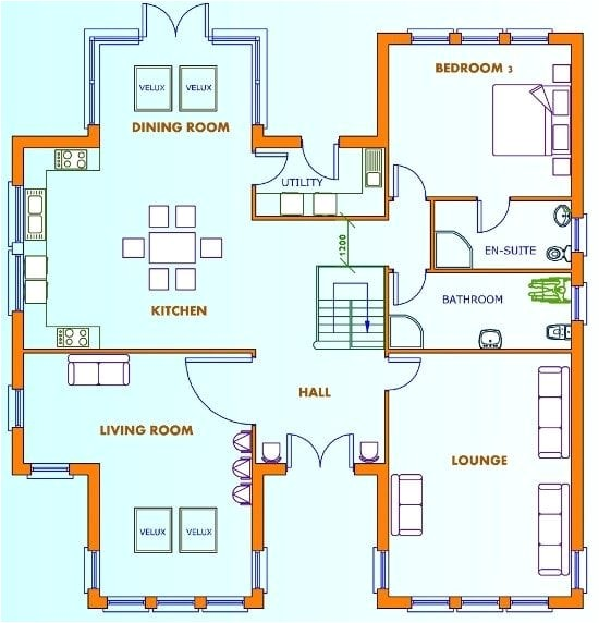 house plans uk 5 bedrooms