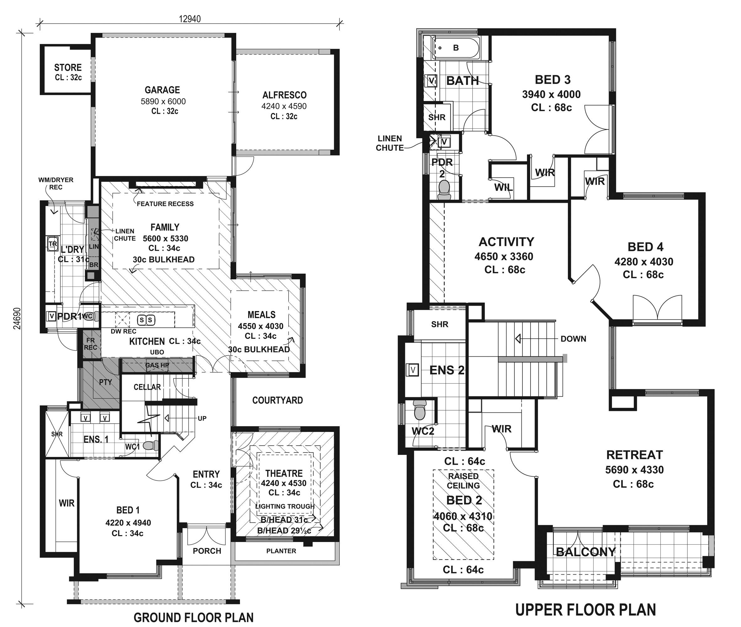 top modern house floor plans