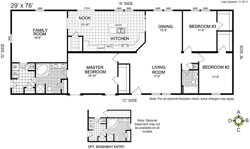 buccaneer manufactured homes floor plans