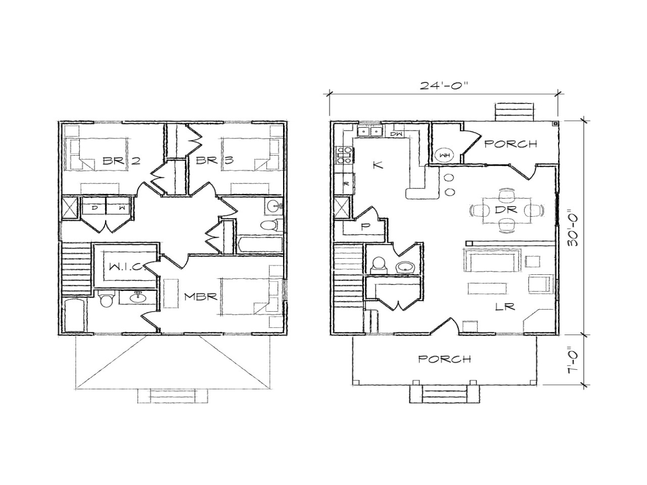 Floor Plans for Square Homes Simple Square House Plans Simple Square House Floor Plans