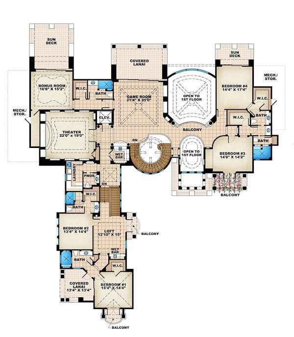 luxury house plans 2