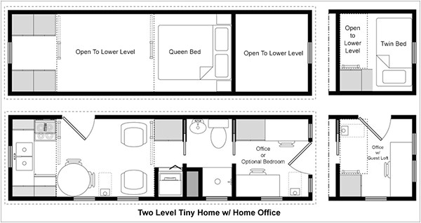 easy tiny house floor plans