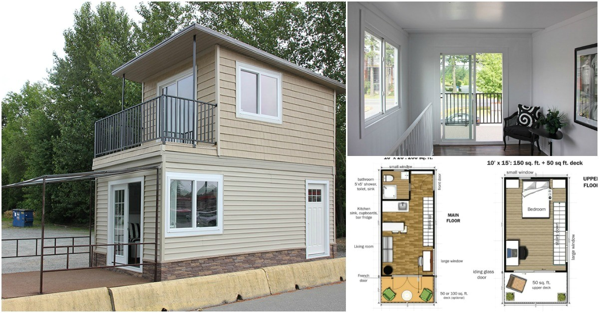 modular tiny house can delivered fully assembled free floor plans