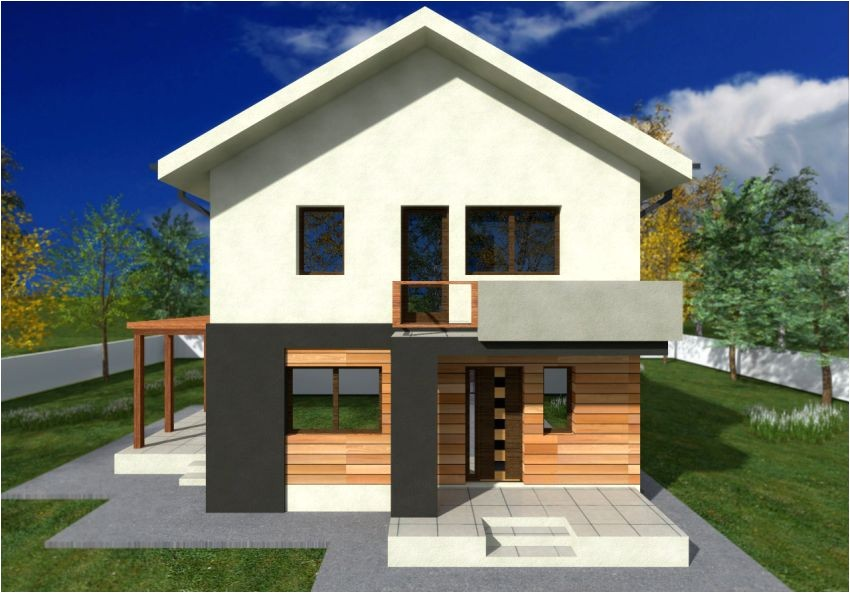 two story small house plans