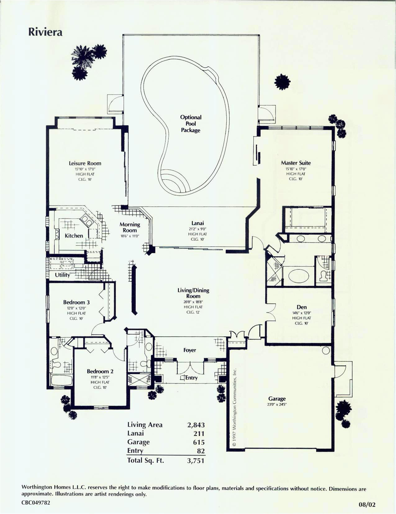 floor plans for florida homes