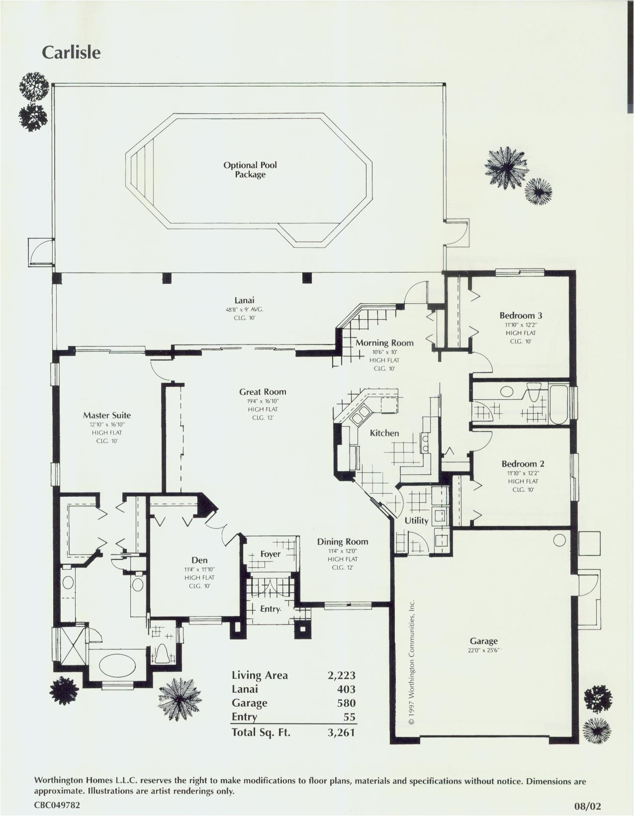 florida style floor plans