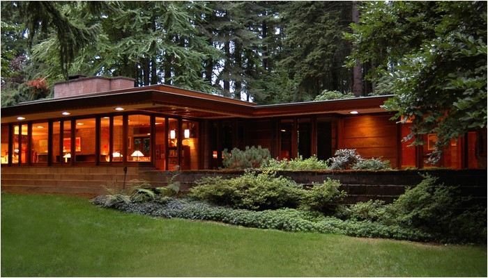 frank lloyd wright usonian house plans for sale