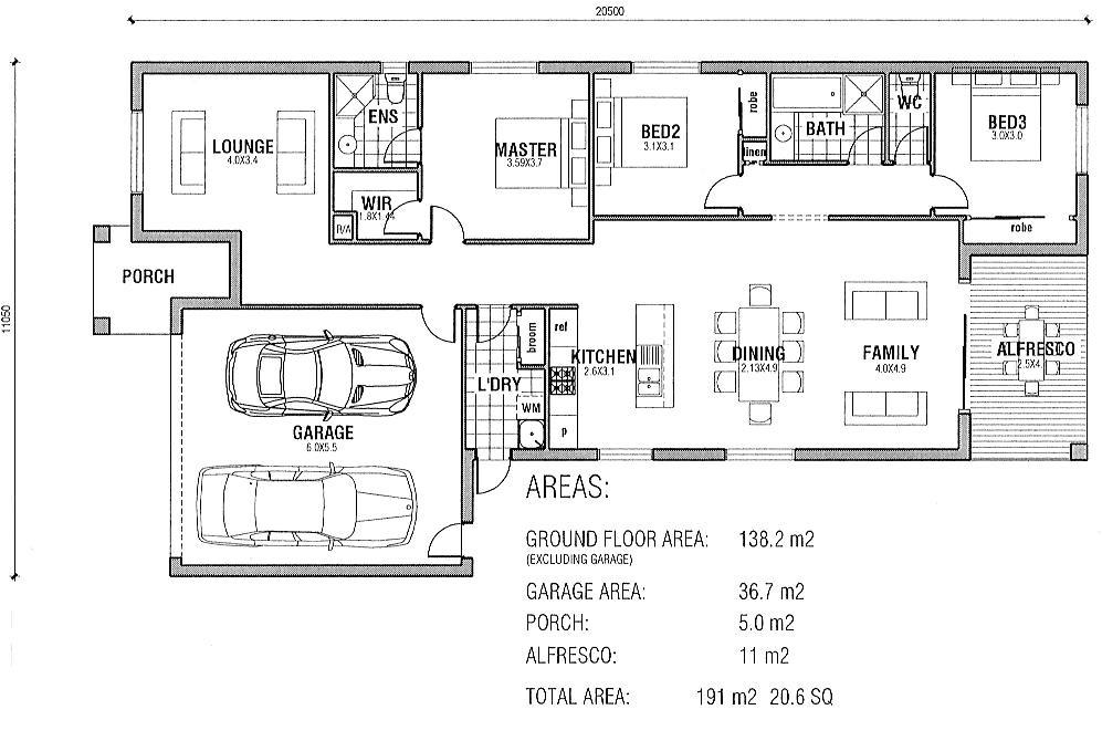 Free Australian House Designs and Floor Plans Free House Plans Australia Home Deco Plans