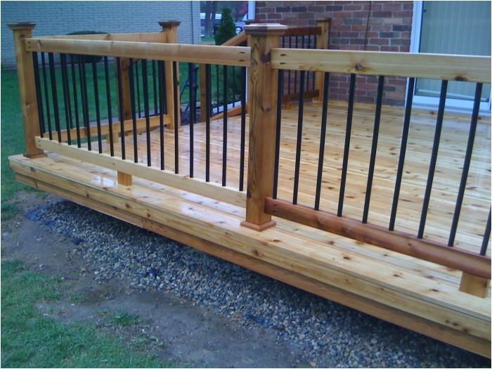 stunning ground level deck plans for inspiring outdoor decoration ideas
