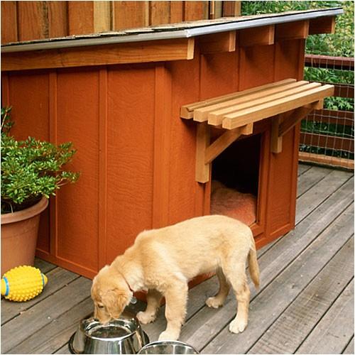 10 free dog house plans