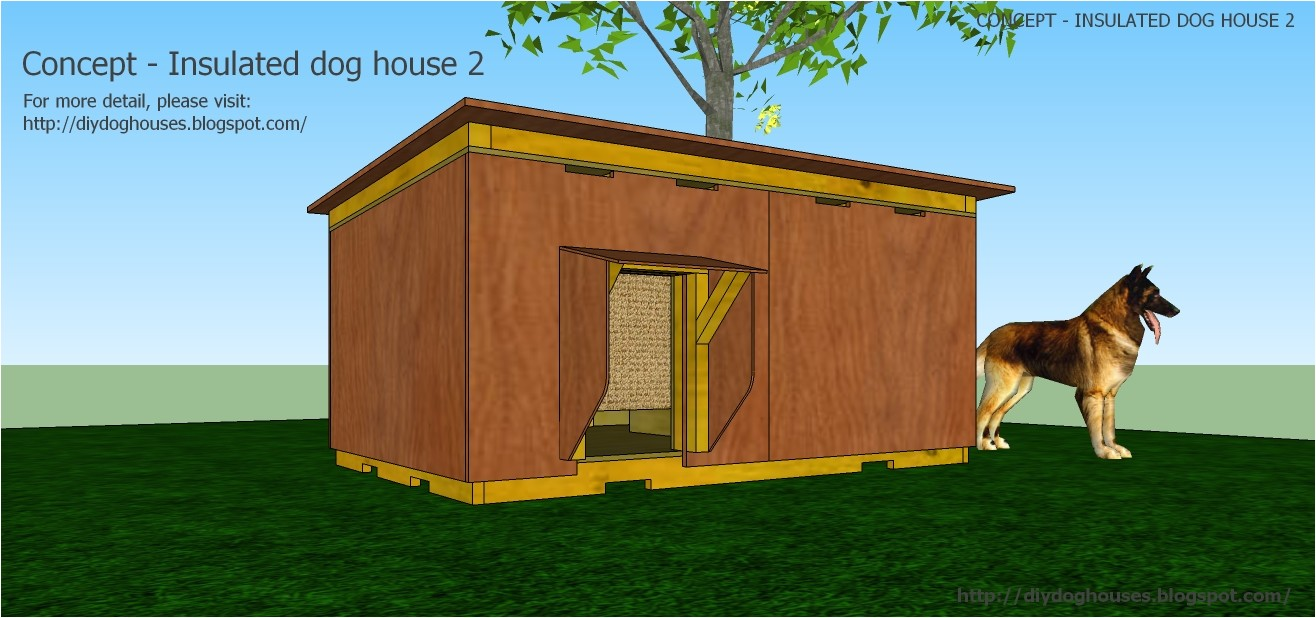 concept insulated dog house 2