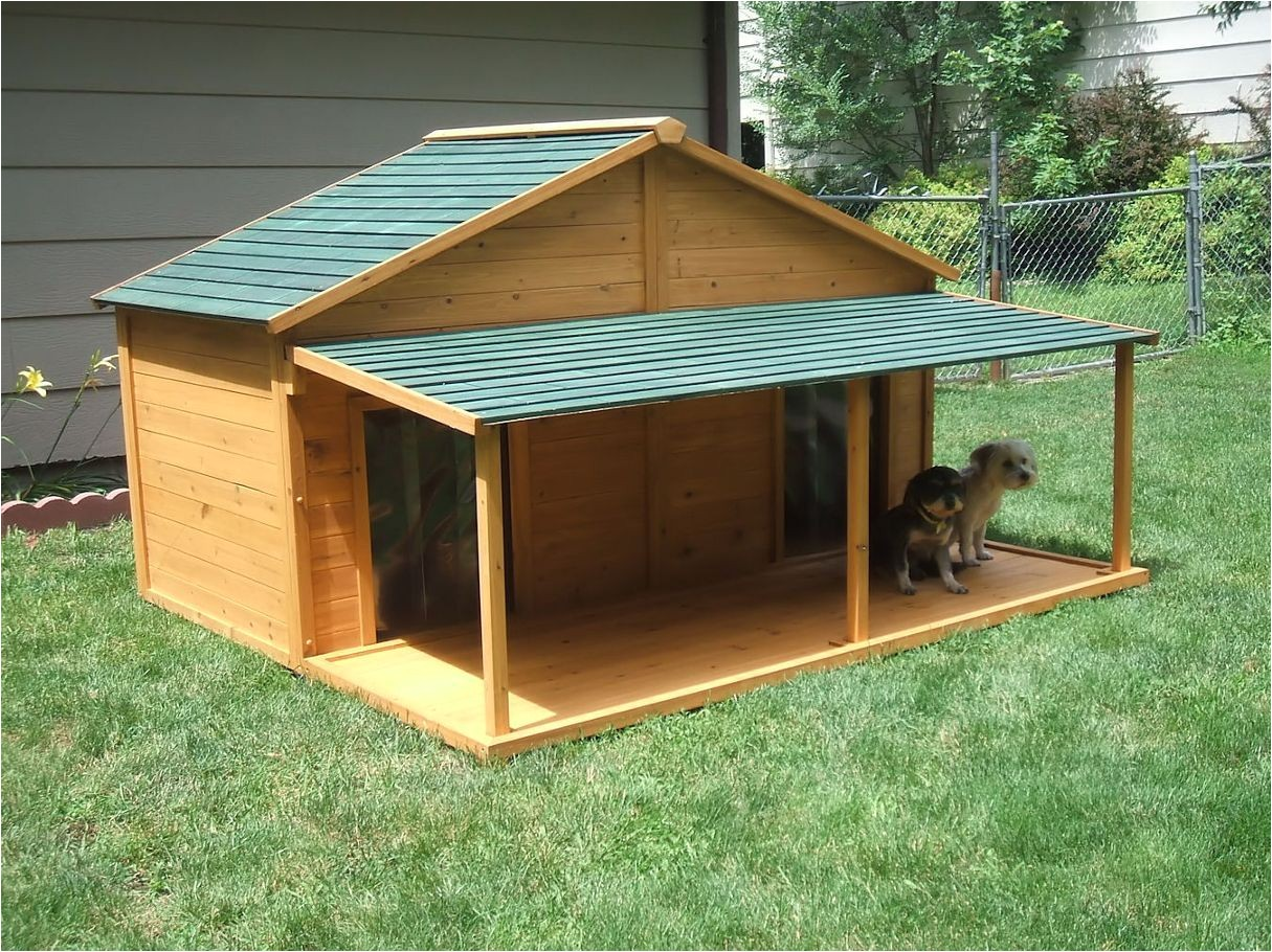 large dog houses